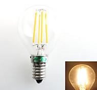 1 Stück Zweihnder E14 4W 4 COB 380 lm Warmes Weiß G45 edison Vintage LED Glühlampen AC 220-240 V