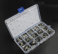 750pcs 15KindsX50pcs TO-92 Transistor Kit + retail box (A1015, C945, C1815, S8050, S9012,2N2222 ...)