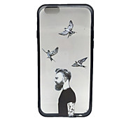 A Couple of European and American Style Mobile Phone Case for iPhone6/6s/6 Plus/6s Plus(Couple  2pcs)