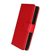 For Nokia Case Wallet / Card Holder / with Stand Case Full Body Case Solid Color Hard PU Leather Nokia Nokia Lumia 820