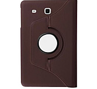 giran la caja de cuero de la PU de 360 grados para Samsung galaxy tab 8.0 e / s2 8,0 / pestaña 8,0 / 8,0 ficha 4 / tab s 8,4 (colores