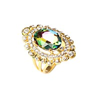 Hot Sales Vintage Jewelry Women's Multicolor Exaggeration Statement Ring