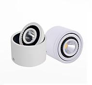 3W Downlight de LED 1 COB 300 lm Branco Quente Branco Frio Decorativa AC 85-265 V 1 pç