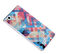 For Mi Case Pattern Case Back Cover Case Geometric Pattern Soft Silicone Xiaomi