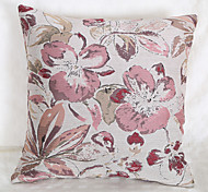 Waterpainting Jacquard Cushion Cover -Pink