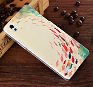 3D Relief Graphic Pattern Fashion PC Material Back Cover for OPPO A51t