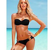 commerce extérieur modèles chauds maillot de bain prop acier se réunissent maillots de bain bikini maillot de bain