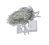 JIAWEN® 3M 4W 100-LED 8-Mode RGB/White/Yellow/Red/Green/Blue Light Decoration String Lights (EU Plug , AC 220V)