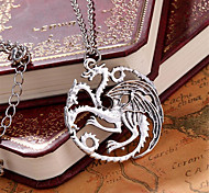 Necklace Pendant Necklaces Jewelry Gift Wedding Party Daily Casual Christmas Gifts Bird Love Personalized Silver Plated Women Men 1pc Gift