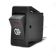 jtron interruttore auto / nebbia verde interruttore della luce / rosso - nero (30a / 12v)