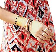 Plantillas para Tatuajes Temporales- paraJuventud-Dorado-PVC-1-18*10*0.3