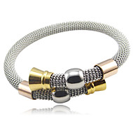 Net Wire Stainless Steel Bangle