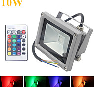 HRY® 10W 1000LM RGB LED Flood Lights 16 Colors Waterproof LED Floodlight (12V)
