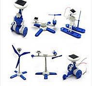 Blanco / Azul Powered Gadgets solares para el muchacho ABS