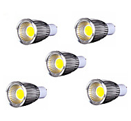 5pcs MORSEN® 9W GU10 700-750LM Led Cob Spot Light Lamp Bulb(85-265V)