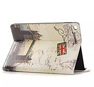 luoghi di custodia in pelle interesse storico con i titolari di carta per l'aria Apple iPad, custodia in pelle Smart Cover