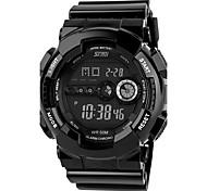 Masculino Relógio Esportivo Relógio de Moda Relógio de Pulso Quartzo Calendário Cronógrafo Dois Fusos Horários alarme Noctilucente PU