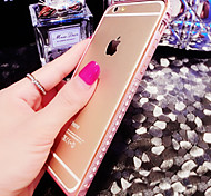 Luxury Diamante Metal Bumper for iPhone 6/iPhone 6 Plus