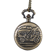 Unisex Pocket Watch Classic Hot Models Vintage Locomotive Relief Flip Shiying Huai Table