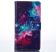 Star Painted PU Phone Case for Huawei P9/P9lite