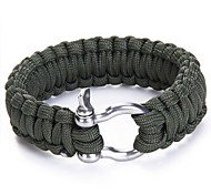 Survival Bracelet Survival Hiking Assorted Colors