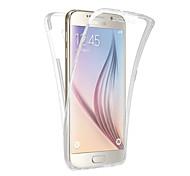 360-градусный универсальный ультратонкий корпус для телефона tpu для галактики Samsung s5 / s6 / s6 edge / s6 edge plus / s7 / s7 edge s8 plus s8