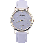 New Arrival Leather Strap Watches Hollow Flower Women Watch Geneva Watch Fashion Quartz Watches Relogio Feminino