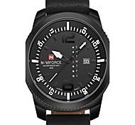Naviforce Watch Men quartz-watch Clock Men Luxury Brand Leather Army Military Wrist Watch relogios masculinos