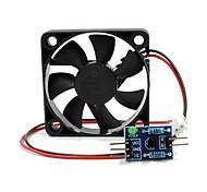 módulo de motor do ventilador de regulamento da velocidade + placa de condução para o módulo de ventilador de controle de arduinopwm para