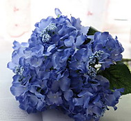 Branch Silk Hydrangeas Tabletop Flower Artificial Flowers