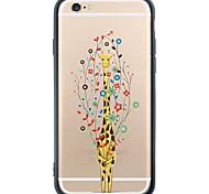 iphone SE / 5s / 5 animales del tpu suave de la contraportada