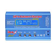 imax b6 lipo NiMH de ion-litio Ni-Cd balance de la batería del rc cargador descargador digitales