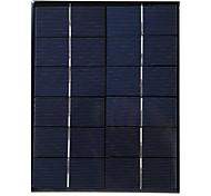 5W 5V de salida USB del panel solar de silicio monocristalino