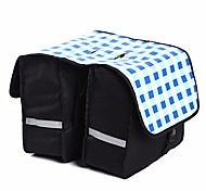 Panniers & Rack Trunk Waterproof / Shockproof / Wearable Cycling/Bike Mesh / 600D Ripstop Light Gray / Black / Blue