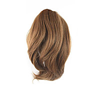 Length Wig Golden Brown Short Ponytail 25CM High Temperature Wire Color 7027