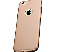 alta qualidade mate caso do iphone capa protetora volta difícil para 6s iphone plus / iphone 6 6s plus / iphone / iPhone 6