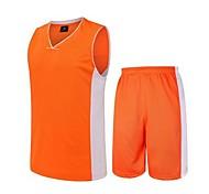 Kleidungs-Sets/Anzüge(Grün / Hellblau / Orange) -Atmungsaktiv / Rasche Trocknung / wicking-Ärmellos- für Herrn