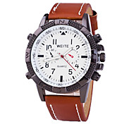 Men's Fashion British Style Sports Watch Wrist Watch Cool Watch Unique Watch