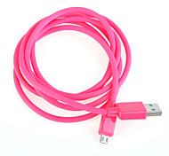 cable de carga USB cable de carga rápida para el cable del teléfono inteligente Android de Samsung en general (1,5 m)