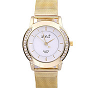 Women's Fashion Watch Casual Watch Quartz Alloy Band Gold