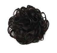 parrucca 6 centimetri nero ad alta temperatura del filo cerchio dei capelli di colore 2/33