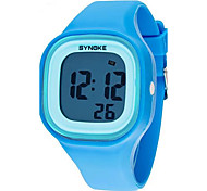 Kid's LCD Digital Rubber Sports Watch Cool Watches Unique Watches