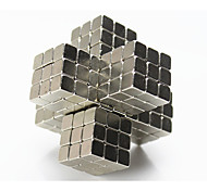 Toys Magnet Toys 216Pcs 5mm Executive Toys Puzzle Cube DIY Toys Magnetic Balls Silver Education Toys For Gift