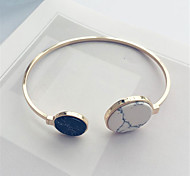 Titanium Steel Bracelet Bangles with Resin for Women Fine Jewelry