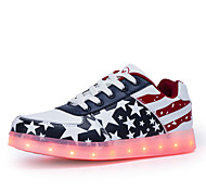 Men's LED lighting Shoes Outdoor / Office & Career / Athletic PU Fashion Sneakers Blue