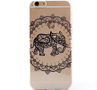 TPU Transparent Thin Elephant Case for iPhone  6 / 6S / 6 Plus / 6S Plus