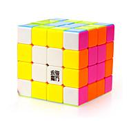 Giocattoli Yongjun® Cubi 4*4*4 Velocità magic Toy Smooth Cube Velocità Magic Cube di puzzle Arcobaleno ABS