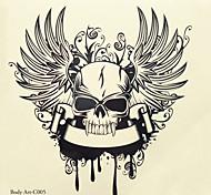 1шт Хэллоуин татуировки паста цвета татуировки наклейки увеличенная версия водонепроницаемый