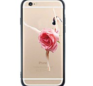 iPhone 6s Plus/6/iPhone 6s/6 TPU Sexy Lady Back Cover