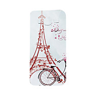 For Samsung Galaxy Case Pattern Case Back Cover Case Eiffel Tower Soft TPU J5